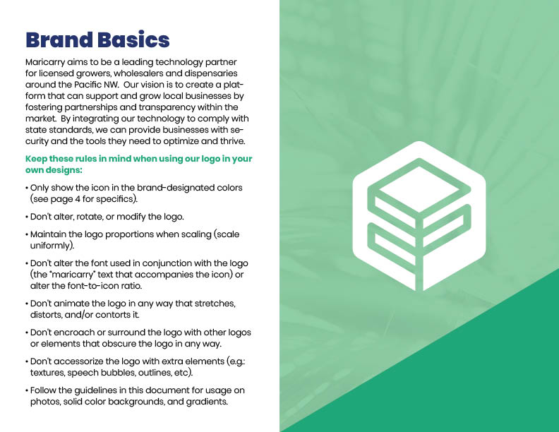 Maricarry Brand Guide: Brand Basics