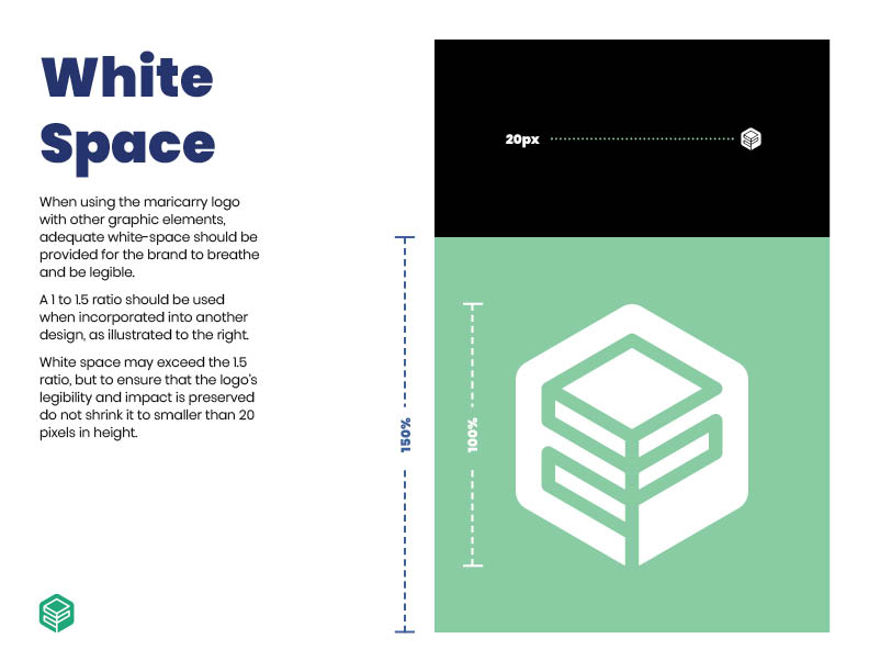 Maricarry Brand guide: White Space